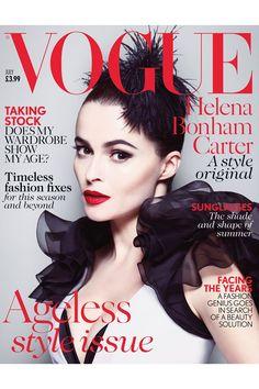 Helena in Ralph Lauren. Vogue 2013