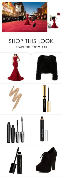"""red carpet night"" by alessandraanna on Polyvore featuring moda, Urban Decay, Givenchy, Elizabeth Arden e New Look"