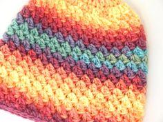 Duhová Zima.. – Jak háčkovat Knitted Hats, Crochet Hats, Beanie, Knitting, Handmade, Fashion, Knitting Hats, Moda, Hand Made