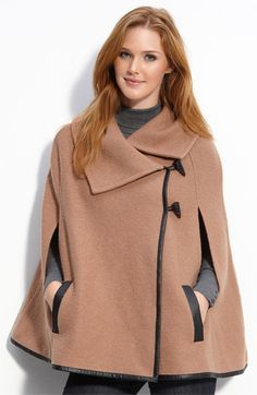 Capes...I was torn, but kind of love these for fall! :)