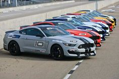 Ford Mustang GT350 in all colors
