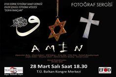 """Edirne'de """"Dünya İnançları Fotoğraf Atölyesi"""" Sergisi"""