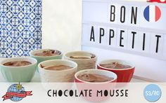 Chocolate Mousse | France | Around the World in 80 Days | Moomookachoo