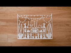Introduction to Paper Cutting with Grace Hart - Materials Needed and Basic Techniques