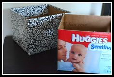Make Your Own Stylish Storage Boxes