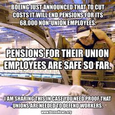Truth be told...   Unions are needed more than ever!