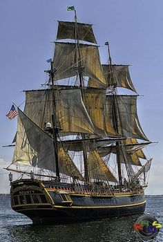 The HMS Bounty Tall Ship - Halifax Harbour by Rodney Hickey Design Studio, via Flickr