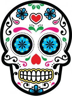 Sticker Calavera - Tete De Mort Mexicaine 24 - ref.d7462 | MPA Déco