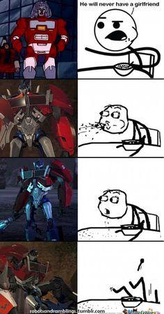 Poor Optimus Prime