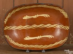 Pennsylvania redware loaf dish - Price Estimate: $800 - $1200