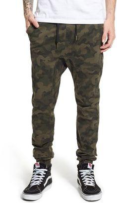 Men's Zanerobe Sureshot Camo Jogger Pants