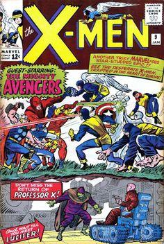 Uncanny X-Men # 9 by Jack Kirby & Chic Stone