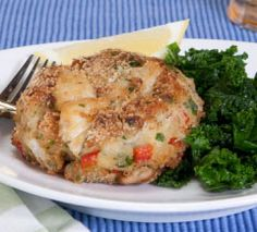 Crab Cakes in Potato Crust