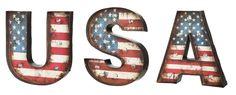3 Piece USA LED Wall Decor Set