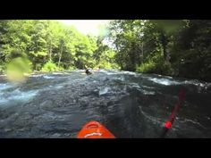 Aggghhhhh...... The Nantahala River.....fun,COLD kayaking river!!! They need to make this in Imax 3D for us loosers that can't get up there that often. LOL