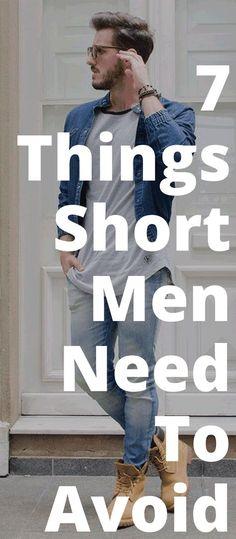 Short Men Style-7 Things Short Men Need To Avoid