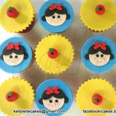 Cupcake Branca de Neve
