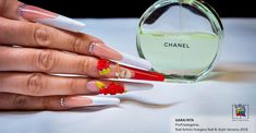 French Manicure Nails, Chance Chanel, Nail Artist, Type 3, Facebook, Photos, Style, Swag, Pictures