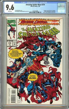 Amazing Spider-Man #379 (1993) CGC 9.6 White Pages 1233146006