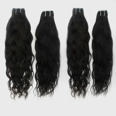 4 Pcs/Lot No Shedding Virgin 100% Human Brazilian Loose Wave Hair Extensions Products