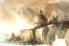 Art Of Watercolor: Janine Gallizia. Interview.