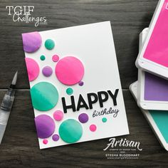 Happy Birthday Cards Handmade, 21st Birthday Cards, Birthday Gifts For Sister, Birthday Diy, Bday Cards, Handmade Cards, Card Making Inspiration, Making Ideas, Alphabet Birthday