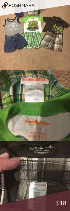 Hello warm weather!!! Matching boy sets & hat! EUC, no stains or tears. See pictures for specific brands and sizes. 3 sets plus the cute Adidas hat is included! Bundle & Save! Matching Sets