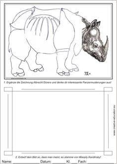 Wassily Kandinsky Lebenslauf Seine Ideen Nachgestalten Kunst Arbeitsblatt Kunst Unterrichten Wassily Kandinsky
