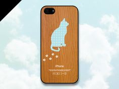 If my mom ever got an iPhone... iPhone 5 case  Wood patterns Cat iPhone Case iPhone 5 by evoncase, $19.99