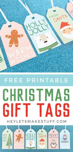Add a bit of sweetness to your gift wrap with these cute Christmas gift tags! These printable gift tags are perfect for adding some adorable personalization to your Christmas presents! Christmas Vinyl, Cute Christmas Gifts, Christmas Projects, Holiday Crafts, Christmas Ideas, Christmas Favors, Christmas Labels, Christmas Baking, Christmas Recipes
