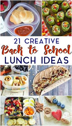 Aug 2018 - 21 Creative Back to School Lunch Ideas Healthy Lunches For Kids, Kids Meals, Healthy Snacks, Easy Meals, Whats For Lunch, Lunch To Go, Turkey Wrap Recipes, Back To School Lunch Ideas, Veggie Snacks