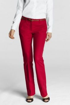 Women's Regular Fit 2 Refined Stretch Demi Trouser from Lands' End