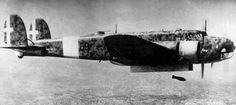 Fiat BR20 Cicogna (Stork) bomber of the Regia Aeronautica, summer 1941.  Never quite as successful as the three engined SM 79, about half as many were built, but it saw widespread service.