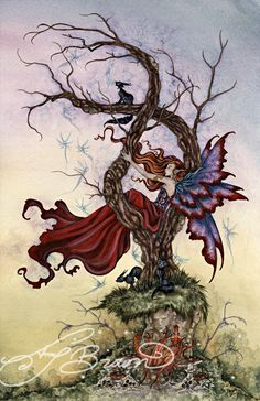 amy brown art | Fairy Art and Gifts from Fantasy Artists at Fairies and Fantasy