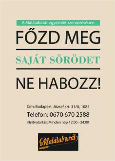 Hullár József - Plakát Adobe Indesign