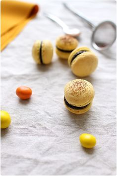 Macarons aux M&M's