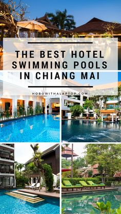 Cool down and chill out at these wonderful pools situated in the most ideal locations in Chiang Mai, Thailand. You never have to leave the hotel when you're relaxing in one of these spacious, crystal-clear pools. Hotel Swimming Pool, Cool Swimming Pools, Best Swimming, Hotel Pool, Places To Travel, Travel Destinations, Travel Tips, Travel Articles, Travel Hacks
