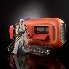 #Hasbro #StarWars The #BlackSeries 6″ #Rey With Speeder  http://www.toyhypeusa.com/2017/04/11/hasbro-star-wars-the-black-series-6-rey-with-speeder/  #ForceAwakens