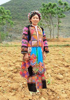 Meo Vac, Vietnam; Lo Lo people