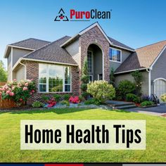 In honor of August being National Wellness Month, enjoy these home health tips. Check for leaks and control humidity to prevent mold growth. Formaldehyde can be a dangerous chemical. Avoid products that use it. Professional cleaning services can eliminate mold and contaminants. House Cleaning Tips, Cleaning Hacks, Home Health, Health Tips, Professional Cleaning Services, Clean House, Mansions, House Styles, Outdoor Decor