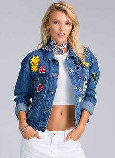 We've been playing matchmaker with all of these patches for the perfect throwback 90s look.