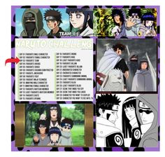 """""""Naruto challenge: Day 3 (read d)"""" by laurablima-1 ❤ liked on Polyvore featuring beauty"""