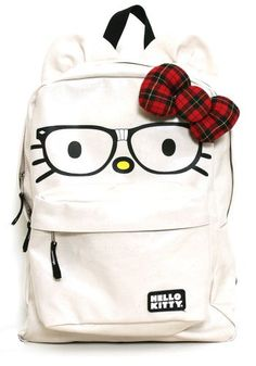 7a93a16ef8 The Nerdy Hello Kitty Backpack from Loungefly. Hello Kitty Backpacks