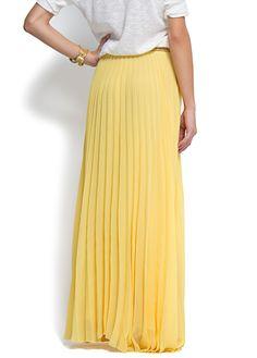 I want a long skirt