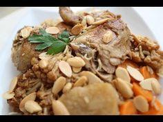 طريقة عمل بالفيديو مقلوبة الدجاج بالزهرة والبطاطس من مطبخ سيدتي - فطور رمضان