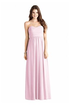 Shop Donna Morgan Quick Delivery Style - Stephanie in Poly Chiffon at Weddington Way. Find the perfect made-to-order bridesmaid dresses for your bridal party in your favorite color, style and fabric at Weddington Way.