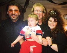 Me, Gary ,Larry & Kris on Garys 40th Bday on 11-27-90❤❤