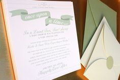 Once Upon a Time Baby Shower invite wording