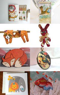 Lovely creatures by Stuart McWilliam on Etsy--Pinned with TreasuryPin.com #australian #etsyfinds #etsyau #etfs