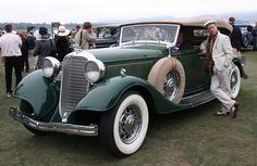 1933 Lincoln KB Sport Phaeton